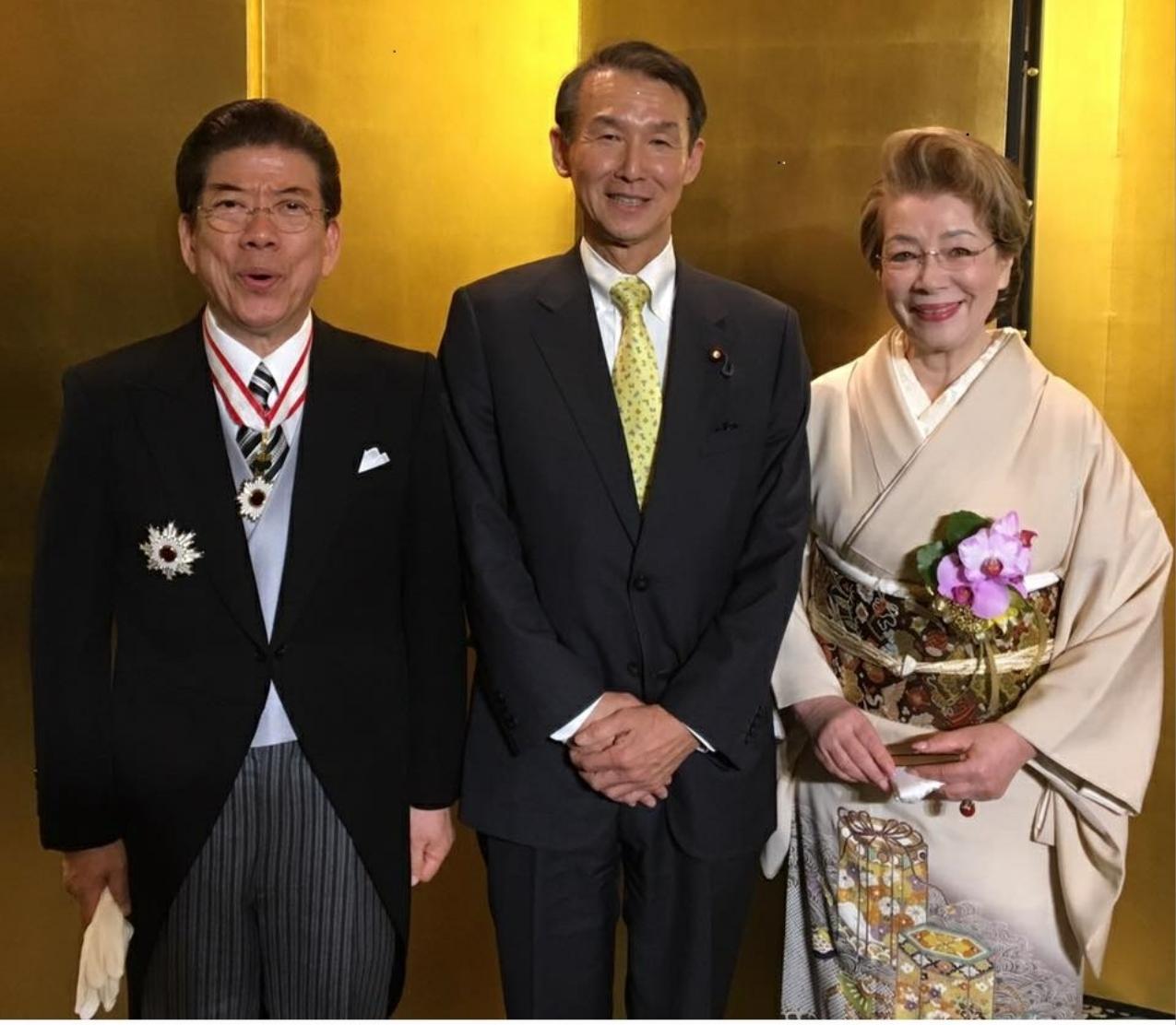 西川きよし師匠の旭日重光章受賞...